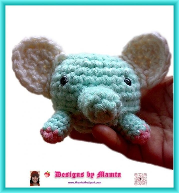 Elephant Amigurumi - Free Crochet Pattern • Craft Passion   768x714