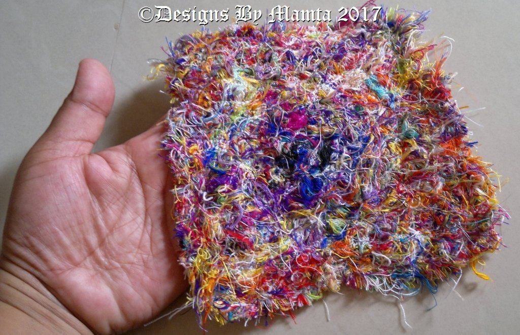 Fabric made from scraps