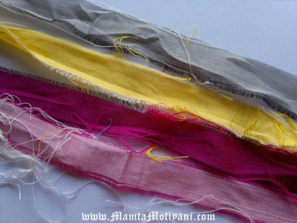 Fair Trade Silk Sari Yarn