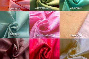 Fat Quarter Dupioni Silk Fabric