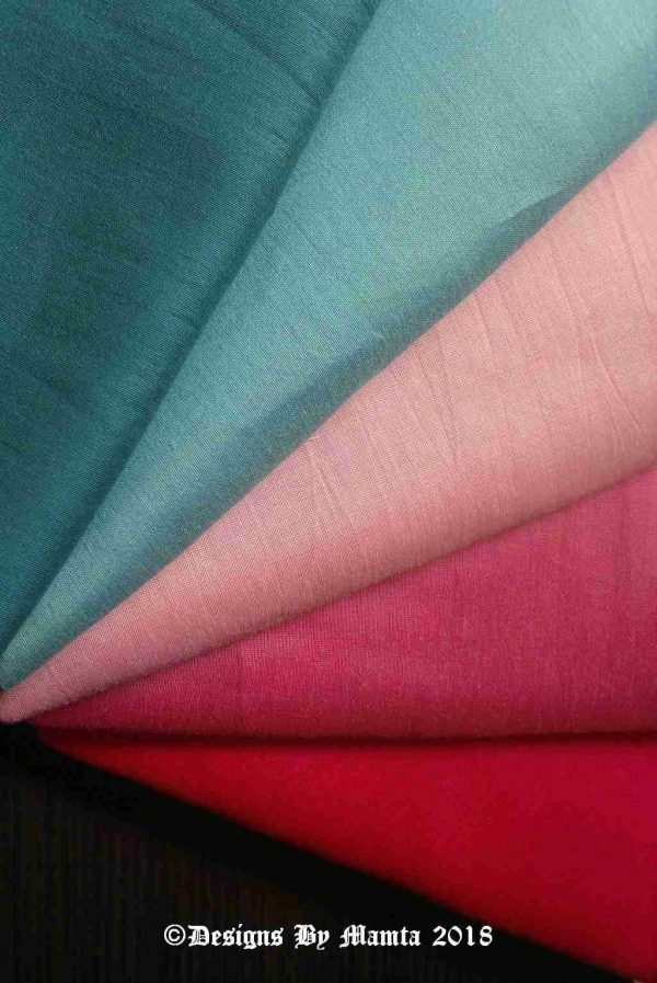 Fat Quarter Silk Fabric