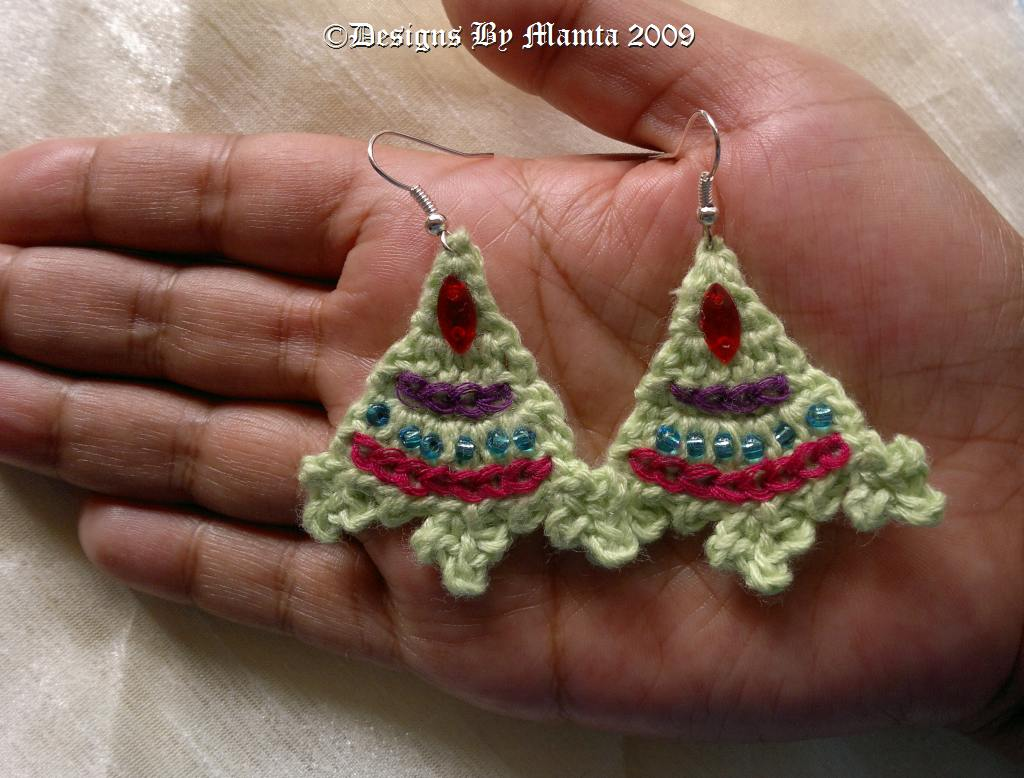 Fern Mountain Crochet Earrings Pattern Cool Crochet Jewelry Patterns