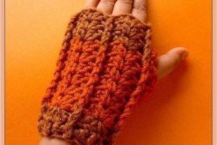 Fingerless Glove Crochet Pattern