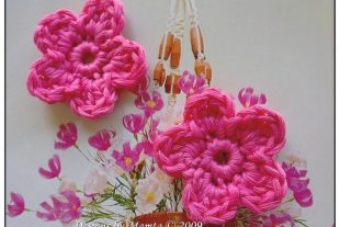 Five Petal Crochet Flower Pattern