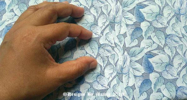 Floral Print Fabric By The Yard