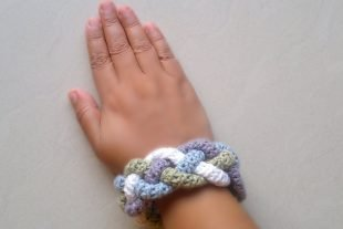 Four Braided Cuff Crochet Pattern