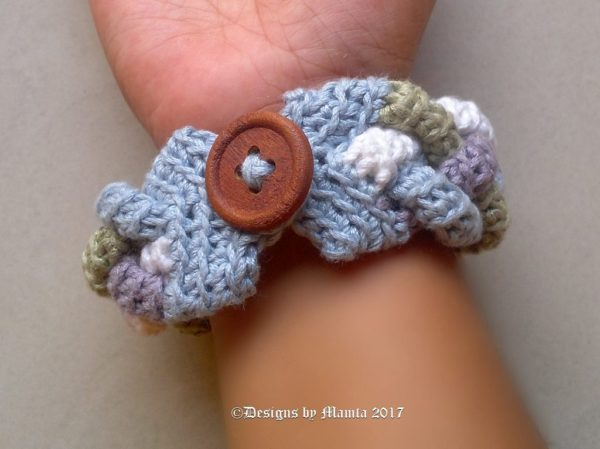 Four Braided Cuff Pattern