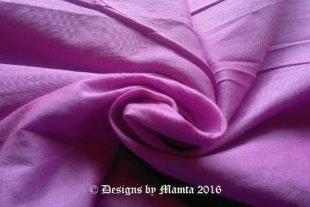 Fuchsia Pink Dupioni Silk Fabric