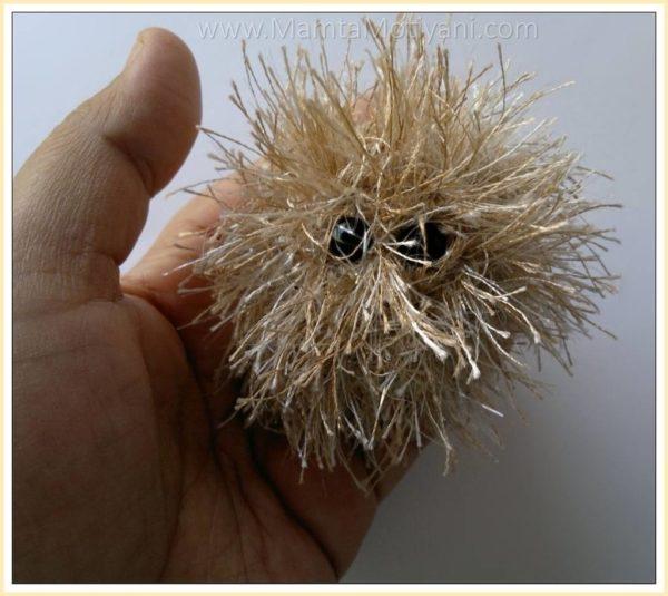 Fun Fuzzy Monster Crochet Toy Pattern