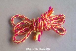 Funky Twisted Kumihimo Rope