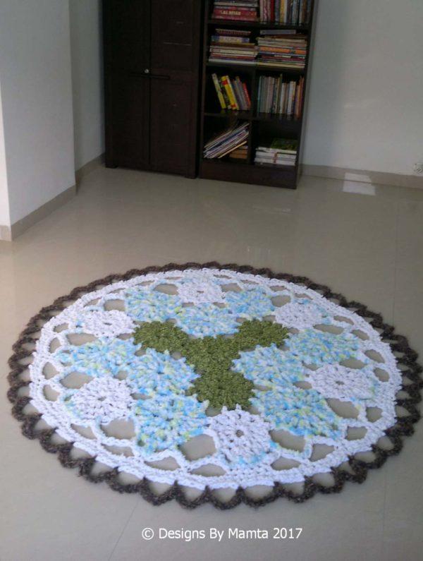Giant Mandala Rug