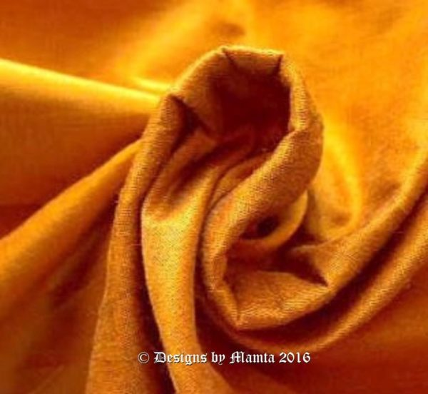 Goldenrod Silk Dupioni Fabric