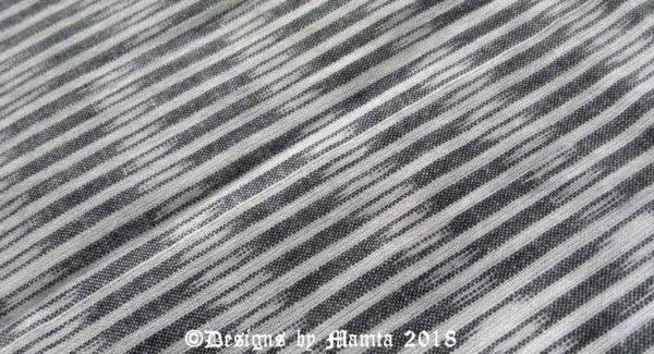 Gray Ikat Fabric
