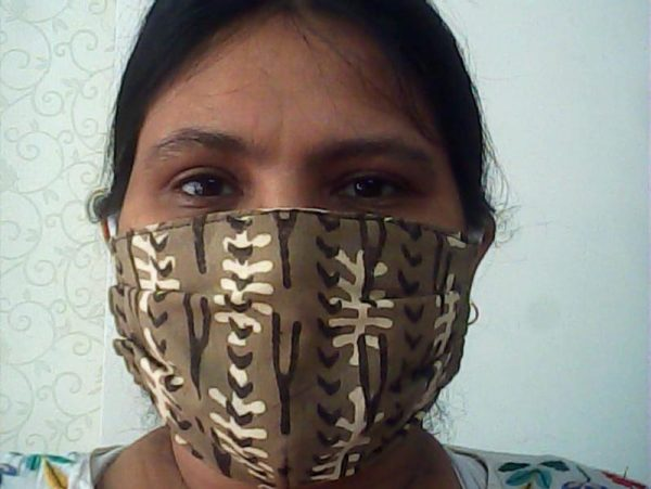 Handmade Fabric Face Mask