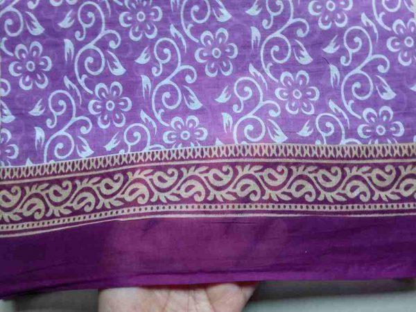 Handmade Floral Print Fabric
