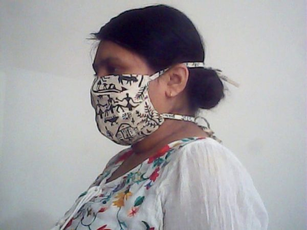 Handmade Organic Face Mask