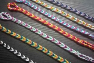 Handwoven Fishtail Friendship Bracelet