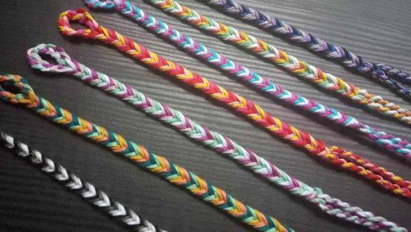 Handwoven Fishtail Friendship Bracelet
