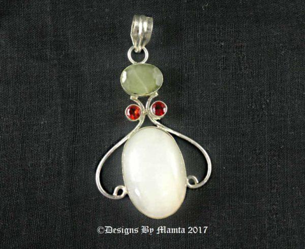 Heart Jade Pendant