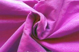 Heliotrope Violet Silk Dupioni Fabric