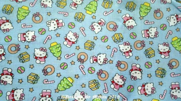 Hello Kitty Print Fabric