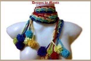 Hippie Chic Scarf Crochet Pattern