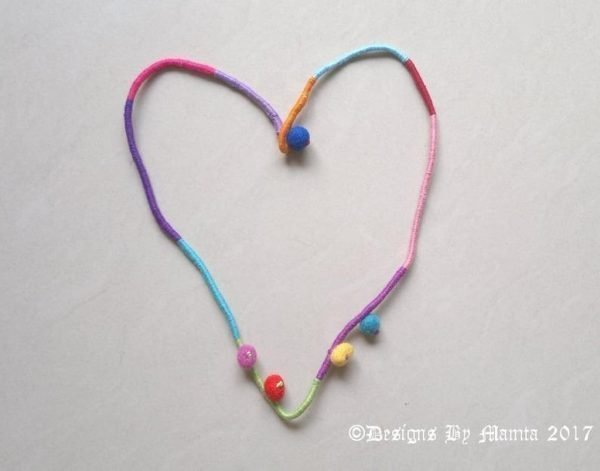 Hippie Rope Rainbow Necklace