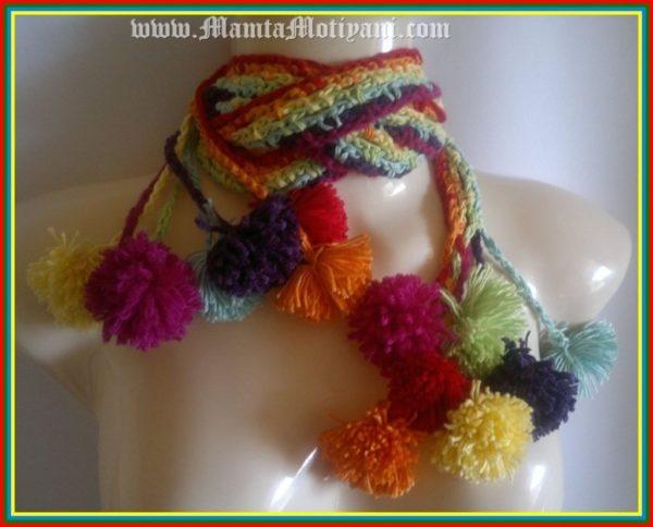 Hippie Scarf Crochet Pattern