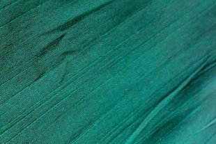 Holly Green Silk Dupioni Fabric