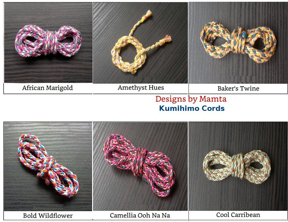 How I Love To Make Kumihimo Cords
