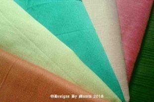 Hydrangea Latte Quarter Yard Dupioni Fabric