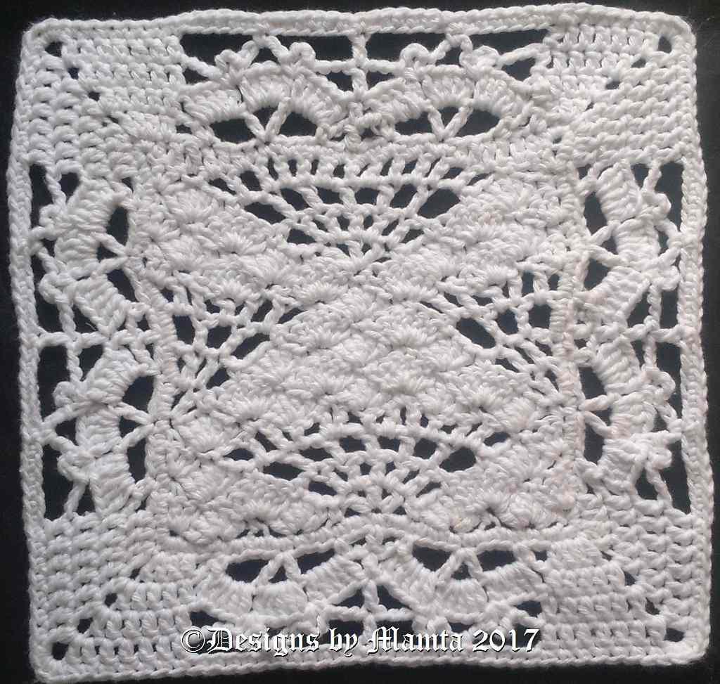 I Heart Butterflies Crochet Square Pattern Unique Crochet Patterns