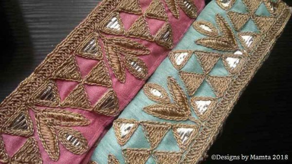 Indian Embroidery Trim