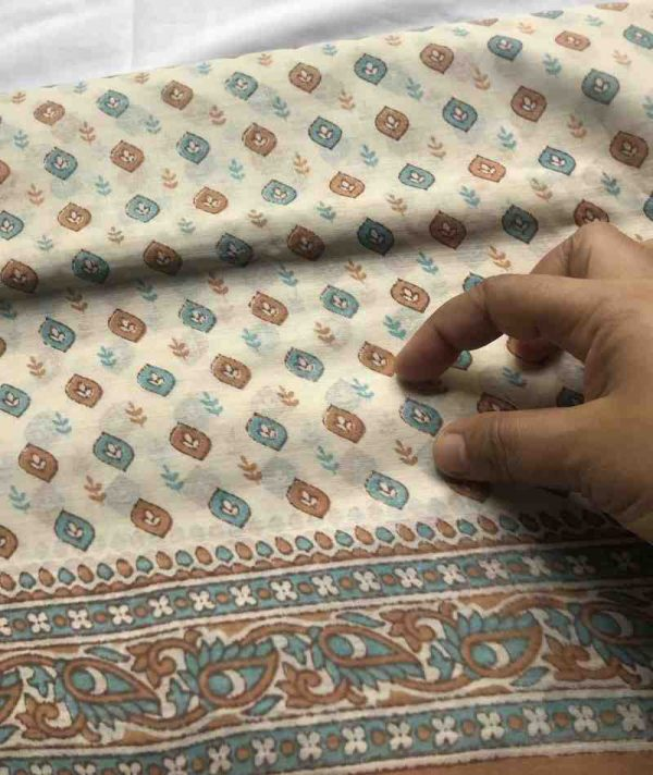 Indian Saree Fabric By The Yard