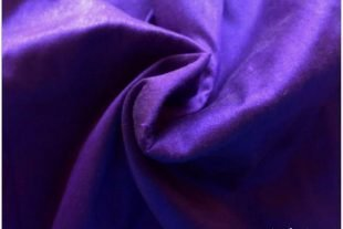 Indigo Blue Dupioni Silk Fabric
