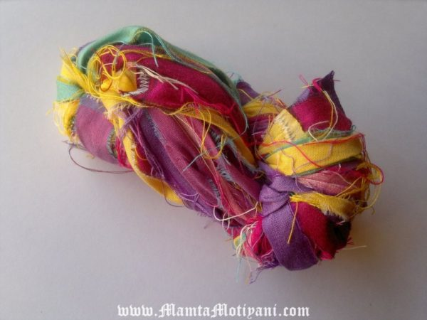 Inspirational Sari Ribbon Yarns
