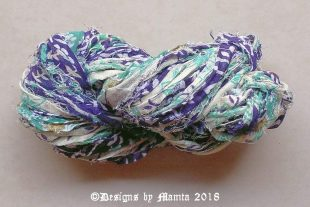 JAL Cotton Sari Ribbon Yarn