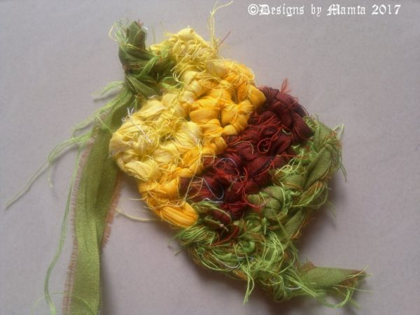 Knitted Ribbon Yarn