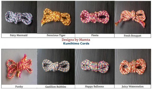 Kumi Himo Braided Cord