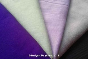 Lavender Mint Wedding Fat Quarters Set