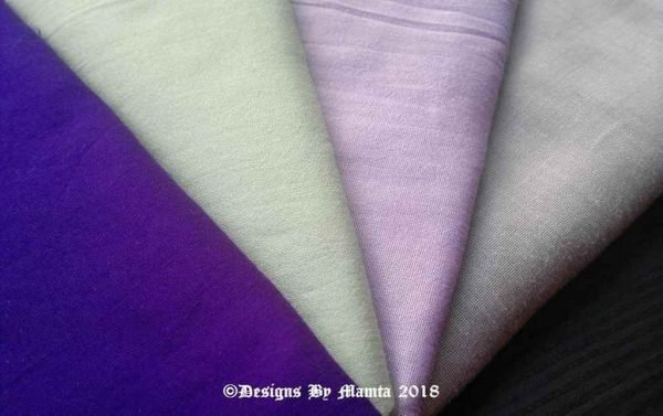 Lavender Mint Wedding Fat Quarters Set