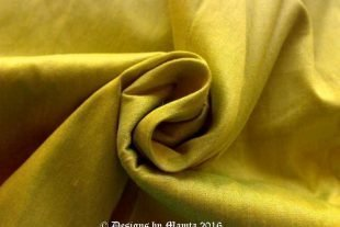 Lime Green Art Silk Fabric