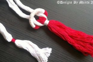 Long Tassel Fiber Necklace