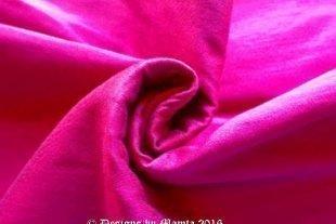 Magenta Dupioni Silk Fabric