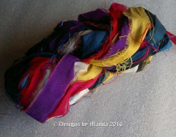 Mandarin Duck Sari Silk Yarn