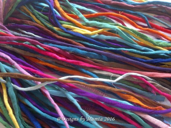 Mixed Assorted Silk Cords
