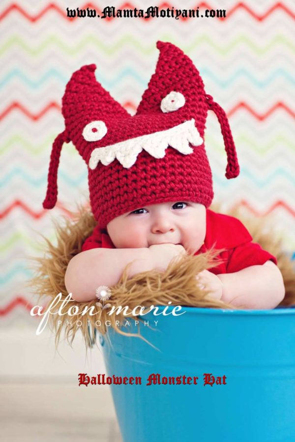 Monster Hat Pattern