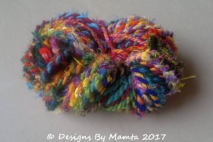 Multi Colored Handmade Fabric Twine