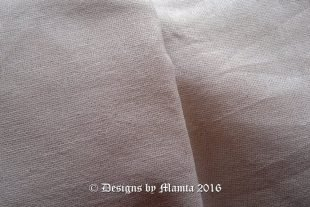 Off White Natural Linen Flax Fabric