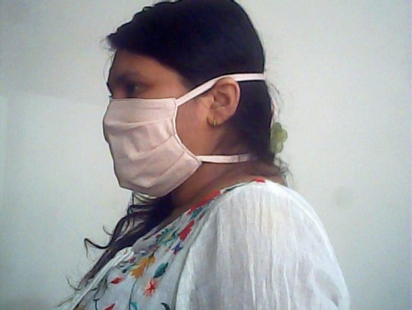 Organic Cotton Fabric Face Mask